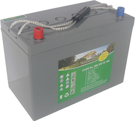 GEL 12 V 105 Ah Batteri