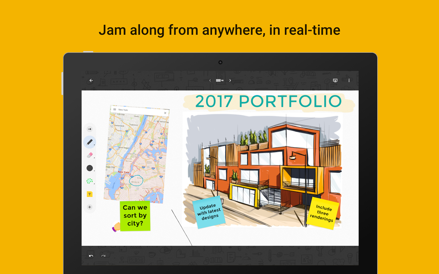 Jamboard- screenshot
