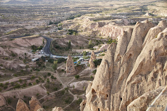Photo: Views from top of Uchisar Castle