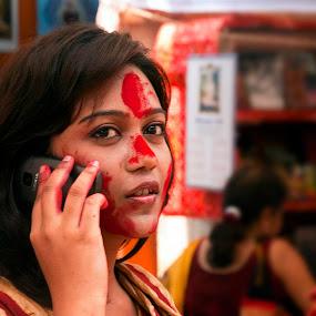 by Suman Rakshit - People Portraits of Women