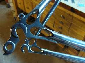 Photo: Finished stainless Ellis dropouts and KVA stays.