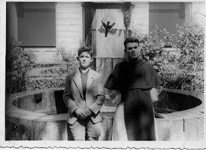 Photo: Colección de Maxi Trapero. Con mi primo Arturo que ingresó de lego