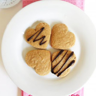 Heart Shape Peanut Butter Coookies
