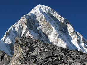 Photo: Pumori (top of Kala Patar in front)