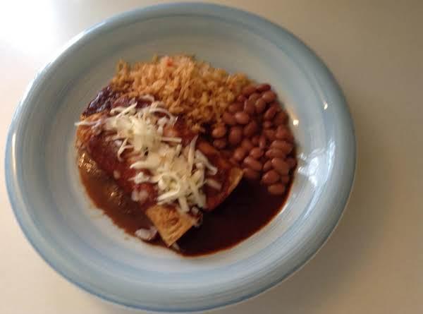 Homemade Cheese Enchiladas
