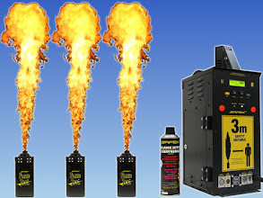 Photo: Safex Flame Jettt (35 €-Tag) + Aerosolkartusche für Flame Jettt St 11€
