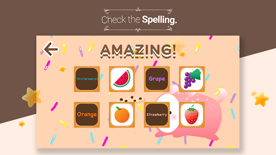 Cookie's Word Cards -Eng learn- screenshot thumbnail