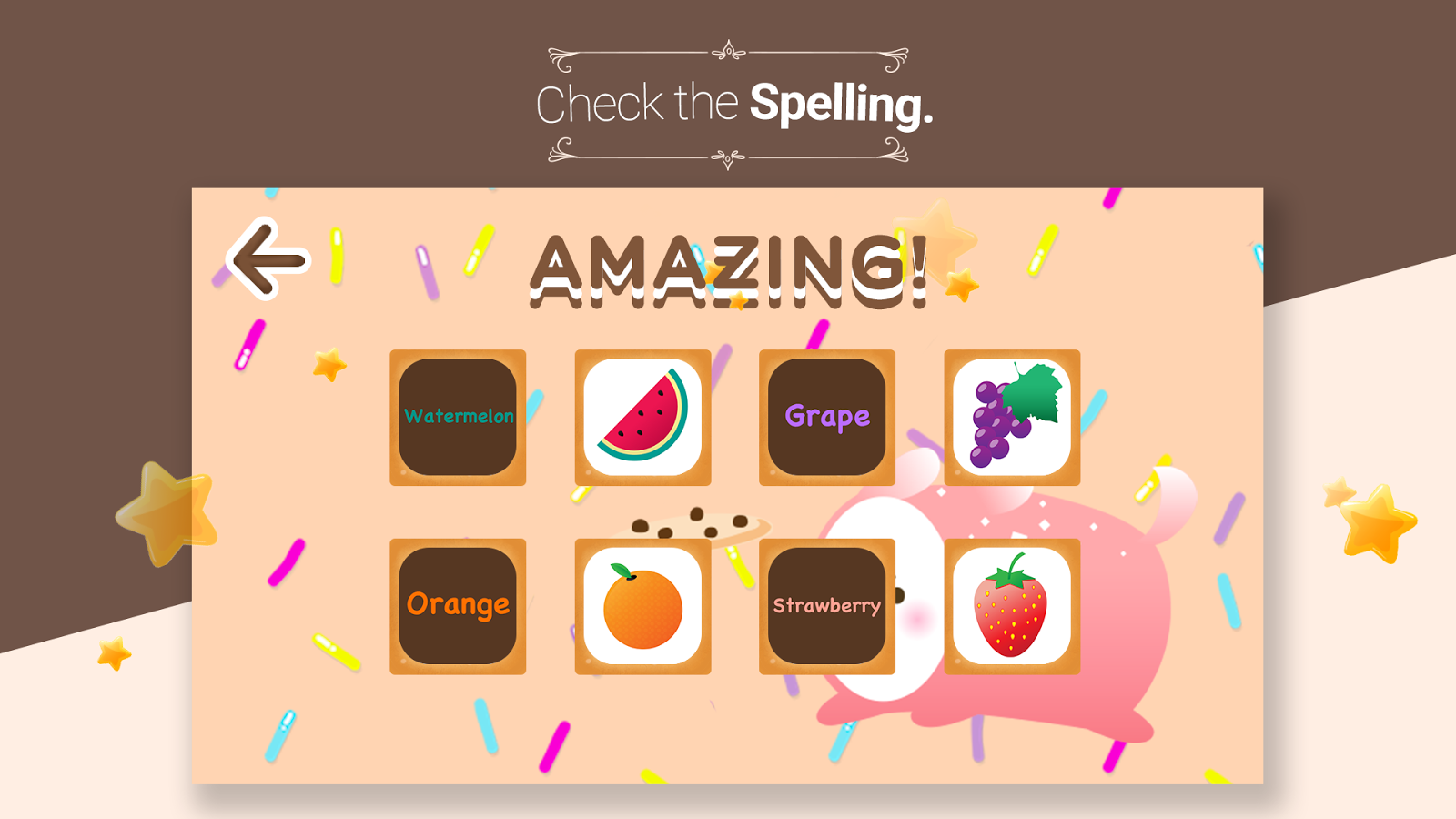 Cookie's Word Cards -Eng learn- screenshot