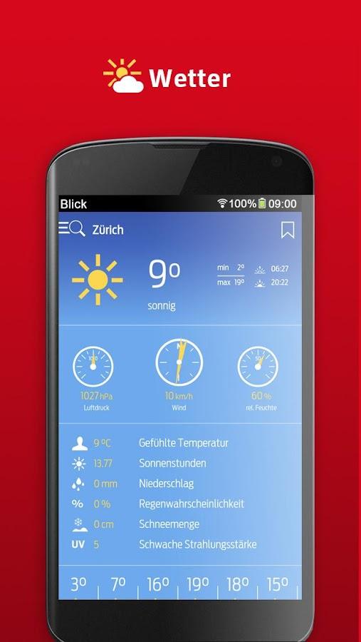 Blick- screenshot