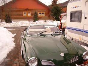 Photo: Noch zu kalt um offen zu fahren.