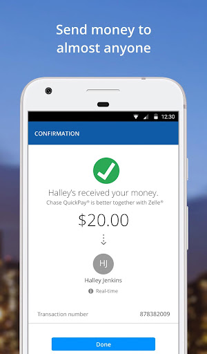 Chase Mobile by JPMorgan Chase (Google Play, United States