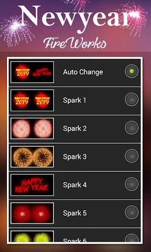 2019 New Year Fireworks Live Wallpaper 1.0.10 screenshots 3