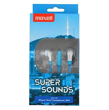 Maxell Super Sounds In-ear hörlurar för musik och samtal