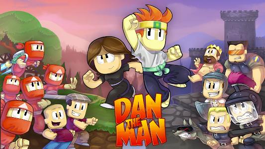 Dan The Man v1.0.0 (Mod Money)