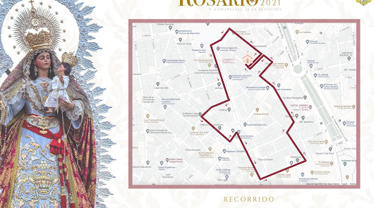 Vuelven los costaleros a Almería: así será la procesión del 9 de octubre
