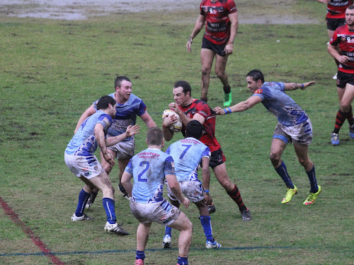 The Blues in action against North Tamworth last weekend.