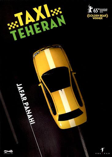 Przód ulotki filmu 'Taxi - Teheran'