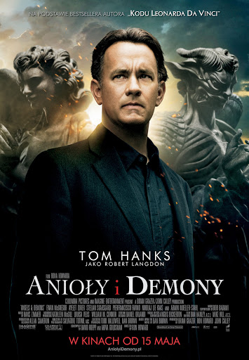 Polski plakat filmu 'Anioły i Demony'