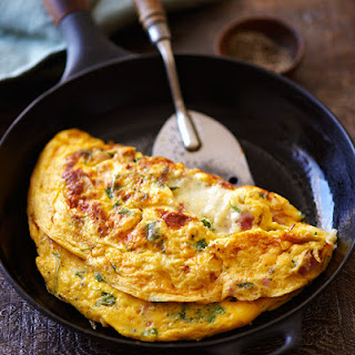 Ham and Cheese Omelet.