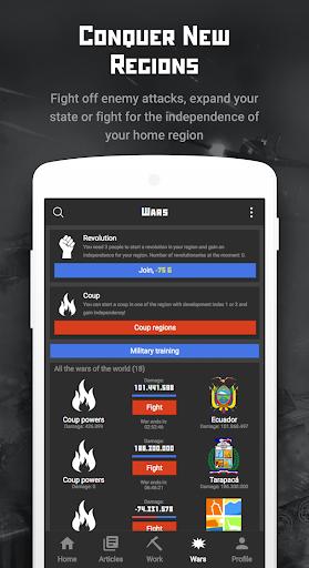 Rival Regions: world strategy of war and politics 1.1.5 screenshots 4