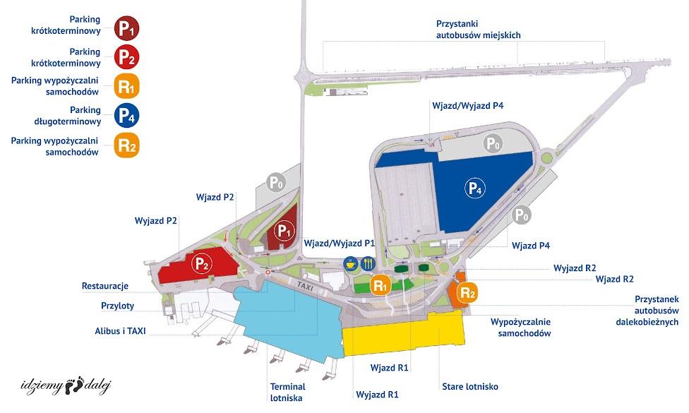 Schemat lotniska Katania-Fontanarossa
