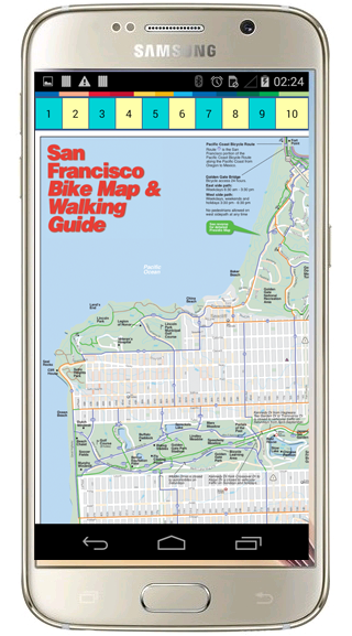 San Francisco Map- screenshot