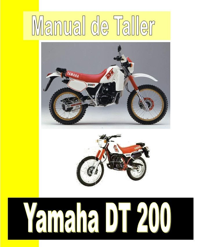 Yamaha DT 200-manual-taller-despiece-mecanica
