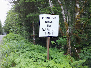 Photo: Primitive Road No Warning Signs