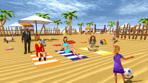 Miami Crazy Beach Summer Holidays Party 3D 1.0 app download 2