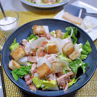 Caesar Chicken Salad Bacon Recipes