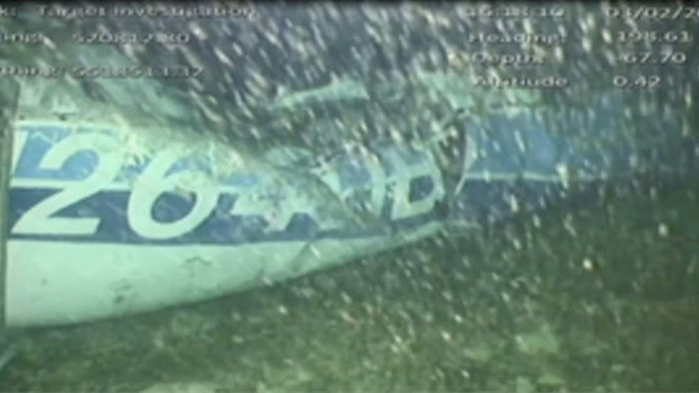 Body recovered from wreck of Sala plane: UK investigators