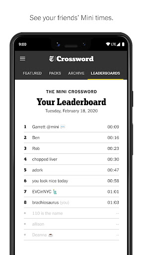 NYTimes - Crossword  screenshots 4