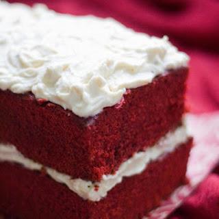Black Tea Red Velvet Cake