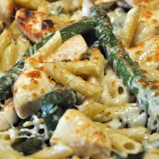 Chicken & Asparagus Penne.