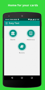 Easy Text - Account manager- screenshot thumbnail