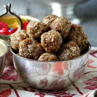 Easy Spiced Almond-Date Balls.