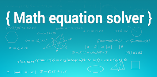 Math Equation Solver – Apps on Google Play