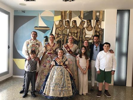 Acomiadament Falleres Majors de Dénia 2019