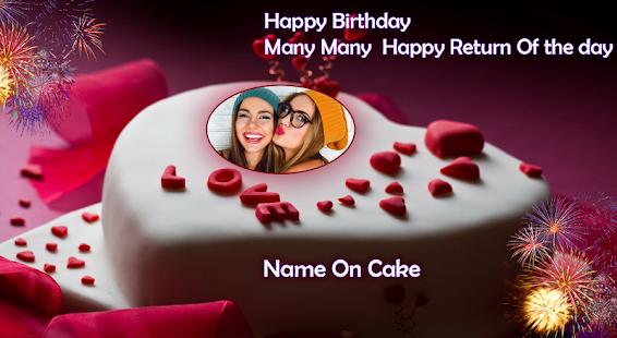Name Photo On Birthday Cake APK for Windows