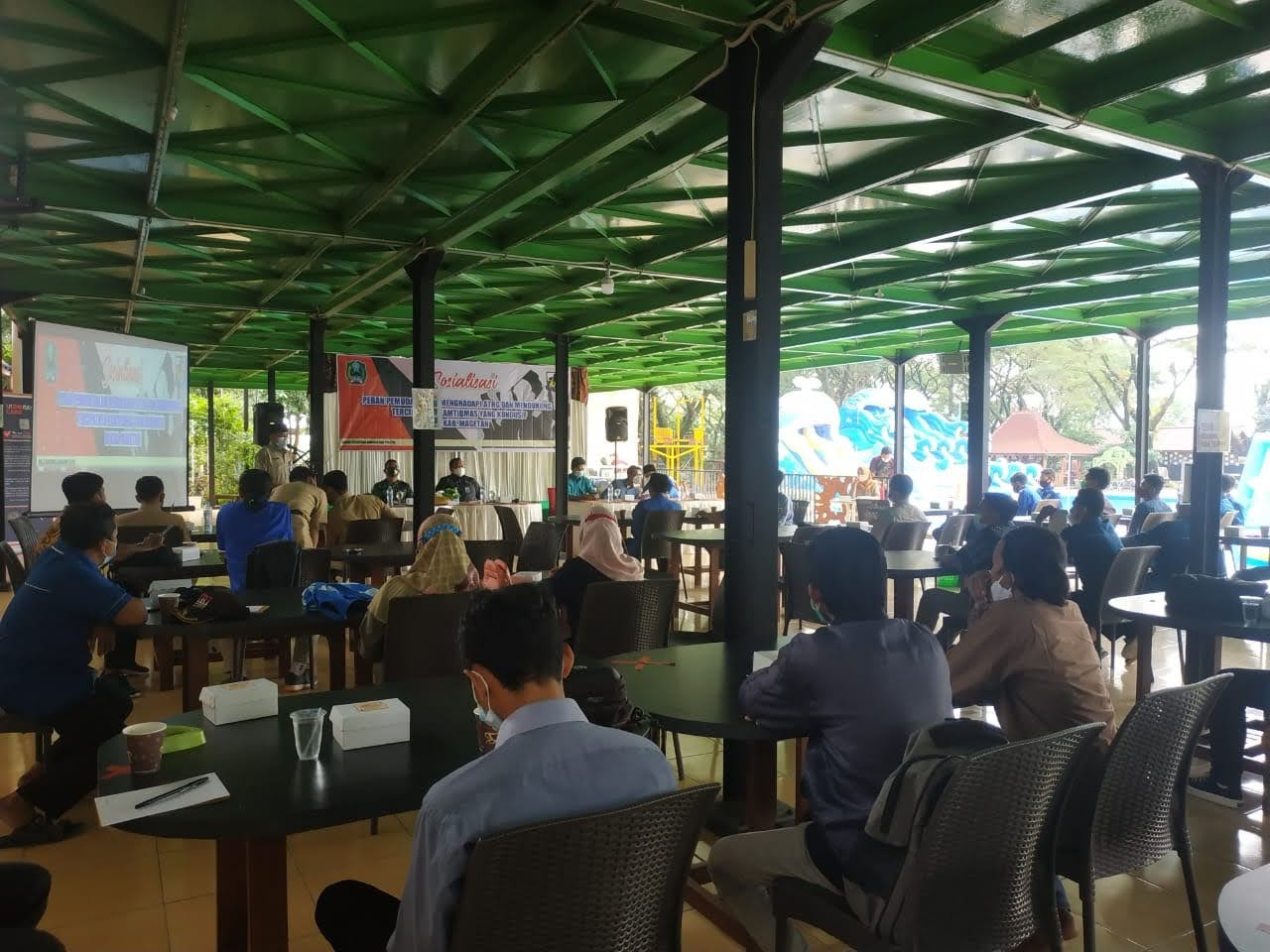 Peran Pemuda Dalam Menghadapi ATGH dan Mendukung Terciptanya Kondusifitas di Kabupaten Magetan