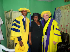 Photo: Pastor Sunday & his wife were the hosts for this leadership conference in Benin City, Nigeria.