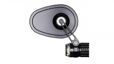 motogadget mo.view cruise, glassless handlebar end mirror, E-examined
