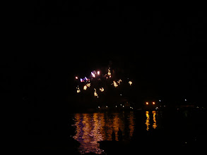 Photo: Lake Como fireworks throughout summer