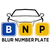 Blur Number Plate / Hide car license plate