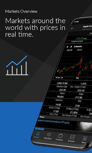StockMarkets - investment news, quotes, watchlists  Paidproapk.com 1