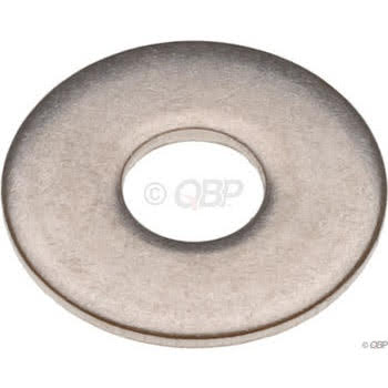 Tree Fort Bikes Large O.D. 5mm Flat Washer Bag of 20 - Stainless
