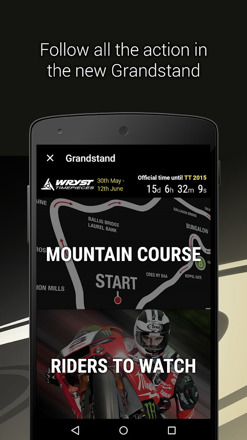 Isle of Man TT- screenshot