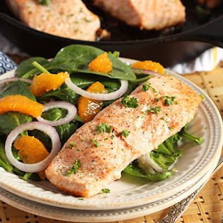 Salmon Spinach Salad Recipes