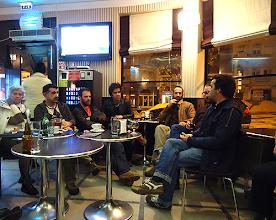 Photo: Tertúlia no Café Central