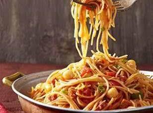 Chickpea & Chorizo Fideos Recipe
